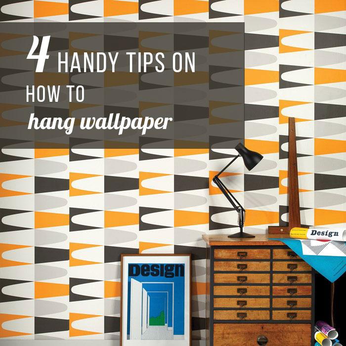 blog how to hang wallpaper